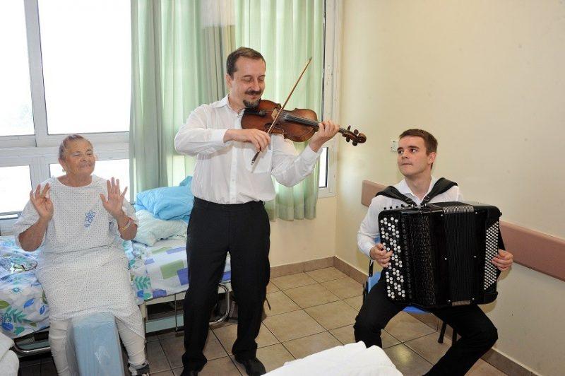 כפרניק 45467890 מוזיקה והוקרה במרכז הרפואי לגליל