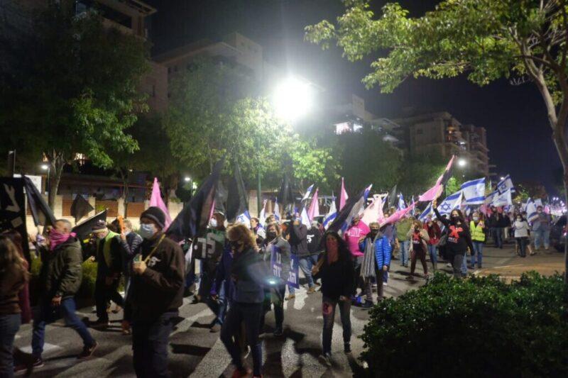 כפרניק WhatsApp-Image-2020-12-06-at-06.44.15-scaled מחאת בלפור בכרמיאל, בצמתים ובגשרים