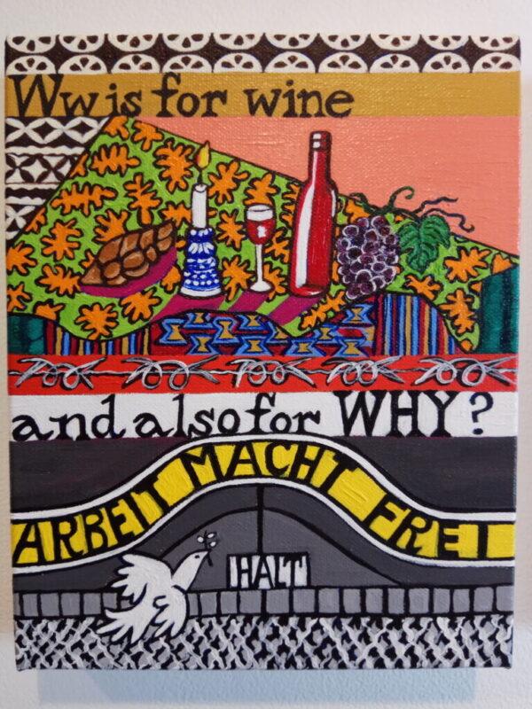 כפרניק W-is-for-Wine-scaled הלן קארול בבית לוחמי הגטאות