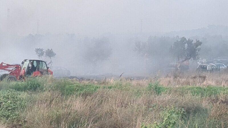 כפרניק WhatsApp-Image-2021-08-07-at-19.07.43-scaled שריפה במגרש רכבים לפירוק